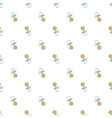 Seamless baby pattern Many small locomotives on vector image