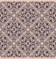 seamless texture ornament for ceramic tile vector image vector image