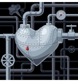 Still heart vector image