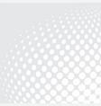 white bg halftone03 vector image vector image