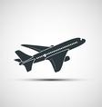 icons aircraft vector image