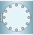 Manhole vector image