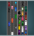 road accident image vector image vector image