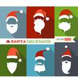 Santa hats and beards