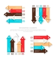 Set of design elements for infographic vector image vector image