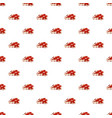 spotted steak pattern seamless vector image vector image