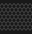 Subtle geometric seamless pattern with small leafs