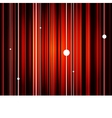 Abstract striped red and white background vector image vector image