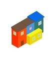 Argentina houses icon isometric 3d style vector image vector image