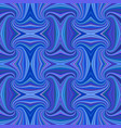blue seamless abstract psychedelic spiral stripe vector image vector image
