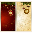 Christmas backgrounds vector image vector image