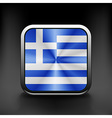 Greece icon flag national travel icon country vector image vector image