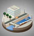 Isometric city vector | Price: 1 Credit (USD $1)