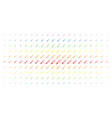 syringe spectral halftone grid vector image vector image