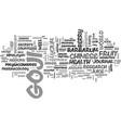 what is goji juice text word cloud concept vector image vector image