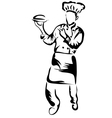 chef full vector image vector image