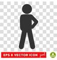 Child Audacity Eps Icon vector image vector image