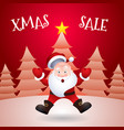 Christmas sale santa claus