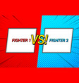 duel bright template vector image vector image