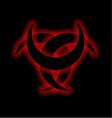 Horned Triskele- The horn of Odin