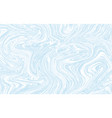 light blue and white marble texture design vector image