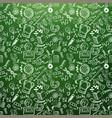 school doodles chalkboard vector image vector image