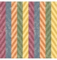 Scratched chevron seamless background vector image vector image