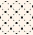 seamless texture simple geometric pattern flowers vector image