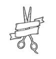 tool wizard hairdressing scissors vector image vector image