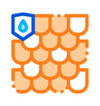 waterpromaterial ro thin line icon vector image