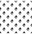wave ocean pattern seamless vector image vector image