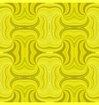 yellow seamless psychedelic abstract spiral burst vector image vector image