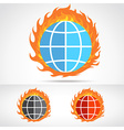 WorldFire vector image