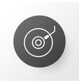 dj disc icon symbol premium quality isolated vector image