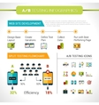 A-b Testing Infographics vector image