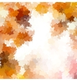 Colorful background of autumn leaves EPS 10 vector image vector image
