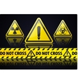 Danger Sign vector image
