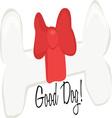 Good Dog vector image vector image