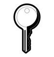 key icon image vector image vector image