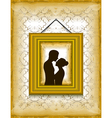 Portrait of loving couple vector image vector image