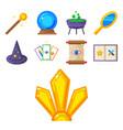 special magic symbol magician fantasy carnival vector image vector image