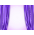 violet theater curtains vector image vector image