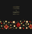 christmas background creative design vector image