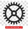 Clock Gear Eps Icon vector image