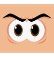 Expressive eyes design vector image vector image