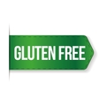 Gluten Free sign ribbon vector image vector image