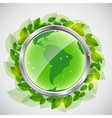 green earth concept iilustration vector image