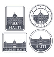 Haiti vector image