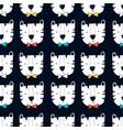 hand drawing cute bear seamless pattern vector image vector image