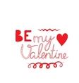 Happy Valentines vector image vector image